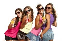 Four girls Royalty Free Stock Image