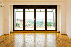 Four Glass Doors Royalty Free Stock Photography