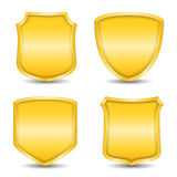 Golden Shields Royalty Free Stock Photography