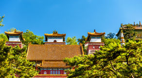 Four Great Regions Temple at the Summer Palace in Beijing Royalty Free Stock Images