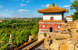 Four Great Regions Temple at the Summer Palace in Beijing Stock Image