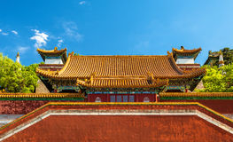 Four Great Regions Temple at the Summer Palace in Beijing Royalty Free Stock Photo