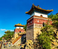 Four Great Regions Temple at the Summer Palace in Beijing Royalty Free Stock Image