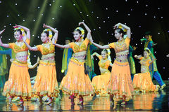 The four groups-Dance of India Stock Photography