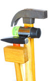 Four hammers Royalty Free Stock Photo