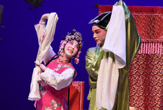 "Four head relative-Kunqu Opera ""the West Chamber"" Stock Images"