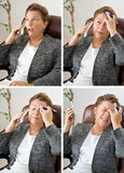 Four Headaches for the Price of One! Royalty Free Stock Photos