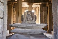 Four headed shiva linga Royalty Free Stock Image