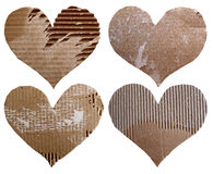 Four hearts isolated Royalty Free Stock Photo