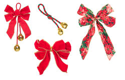 Free Four Holiday Ribbons Royalty Free Stock Images - 3840609