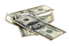 Four hundred dollar bills Royalty Free Stock Images