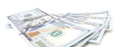 Four hundred dollar notes Stock Photos