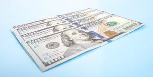 Four hundred dollar notes Stock Photo