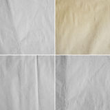 Four images of paper sheet( high res.) Stock Image