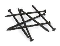Four inch long drywall screws Stock Photo