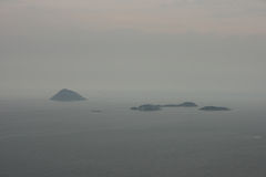 Four islands Stock Image