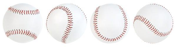 Free Four Isolated Baseballs Royalty Free Stock Images - 9323589