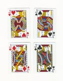 Four Jack's royalty free stock image