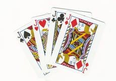 Free Four Jacks Royalty Free Stock Images - 7623719