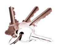 Four keys Royalty Free Stock Photo