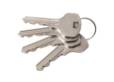 Four Keys On Ring Stock Images