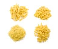 Four Kind Of Macaroni Royalty Free Stock Photos