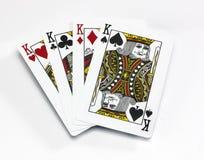 Four Kings Royalty Free Stock Photo