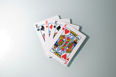Four Kings Royalty Free Stock Images