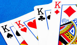 Four kings Stock Photography
