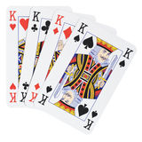 Four Kings. [with clipping path Royalty Free Stock Image