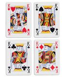 Four kings Stock Images