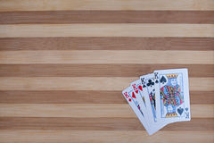Four kings poker Stock Photography