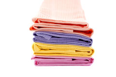 Four kitchen towels Stock Photo