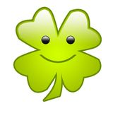 Four Leaf Clover [02] royalty free stock image