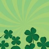 Four leaf clover Stock Photography