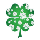 Four-leaf clover as a tree Stock Photo