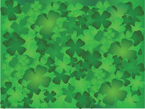 Four Leaf Clover Design. Four leaf clover background design element Stock Photos