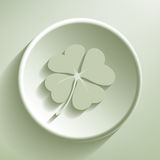 Four-leaf clover Royalty Free Stock Photo