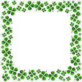 Four Leaf Clover. An image of a four leaf clover pattern Royalty Free Stock Photography