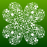 Four leaf clover symbol Royalty Free Stock Image