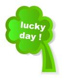 Four leaf clover. Vector illustration Stock Photos