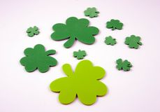 Four Leaf Clovers Stock Images
