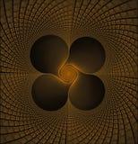 Four leaf vortex Stock Images