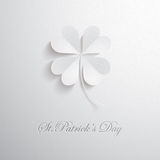 Four leaves clover Royalty Free Stock Image