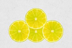 Four lemons. Stock Photography