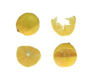 Four Lemons Royalty Free Stock Photos