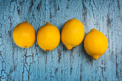 Four lemons Stock Photos