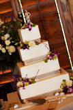 Four Level Wedding Cake Stock Image