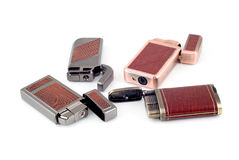 Four lighters Stock Image