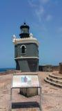 Four Lighthouses. Castillo San Felipe del Morro Lighthouse Stock Photos